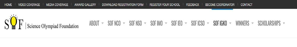 sofworld org IGKO International General Knowledge Olympiad Sample