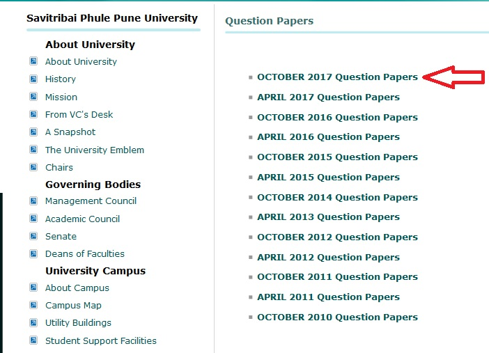 Compulsory English B A Question Paper : unipune ac in – www