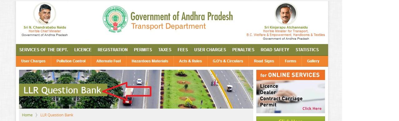 ap transport driving licence