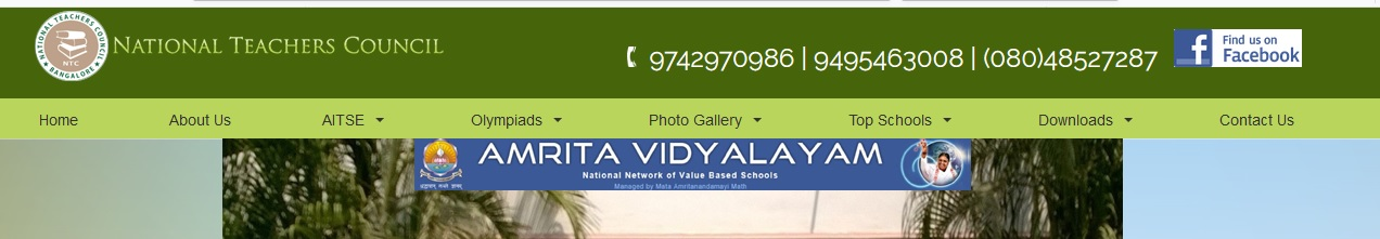 Nationalteacherscouncil aitse all india talent search general instructions to candidates thecheapjerseys Choice Image