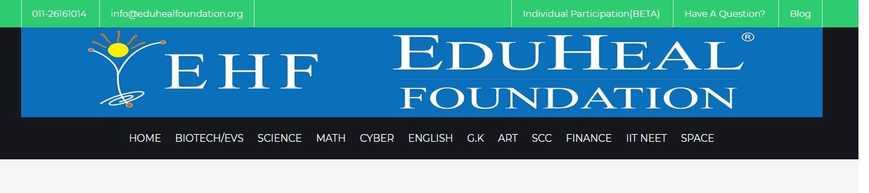 eduhealfoundation org National Interactive Science Olympiad